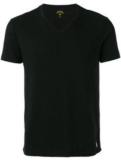 футболка с V-образным вырезом Polo Ralph Lauren