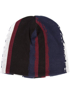 printed stripe beanie  Baja East