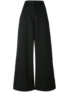 широкие расклешенные брюки Barena