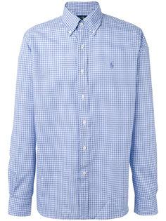 рубашка на пуговицах в клетку Polo Ralph Lauren