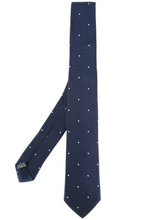 галстук с узором в горох Tonello