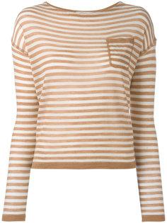 полосатая трикотажная блузка Barena