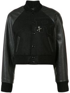 укороченная куртка-бомбер R13