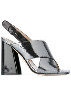 босоножки на устойчивом каблуке Paula Cademartori
