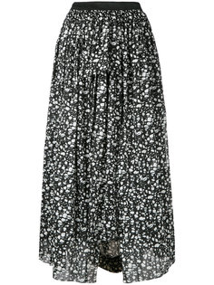 abstract print midi skirt Theatre Products