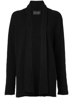 cashmere ribbed cardigan  Baja East