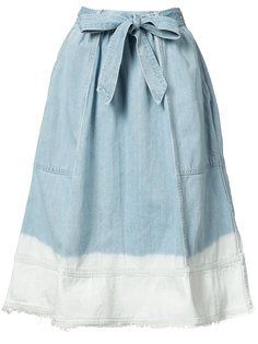 bleached effed A-line skirt Ulla Johnson