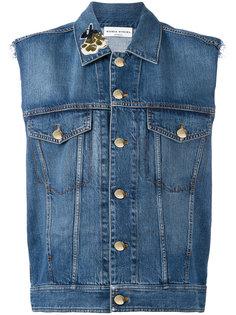 джинсовая куртка без рукавов  Sonia Rykiel