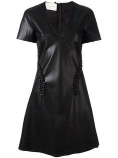 платье с V-образным вырезом Cédric Charlier