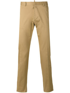 брюки-чинос кроя слим Dsquared2