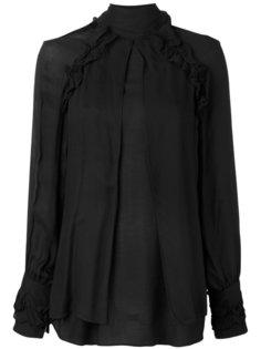 блузка с высоким воротником Iro
