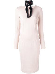 приталенное платье Cavalli Class
