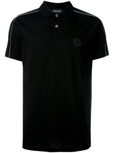рубашка-поло с логотипом Emporio Armani