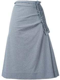 юбка в ломаную клетку Cédric Charlier