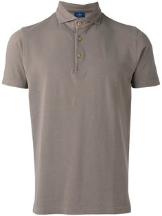 футболка-поло с высокой горловиной Barba
