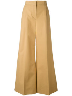 расклешенные брюки MSGM