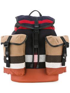 полосатый рюкзак Burberry