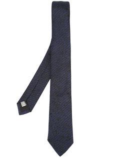 галстук с мелким принтом Dior Homme