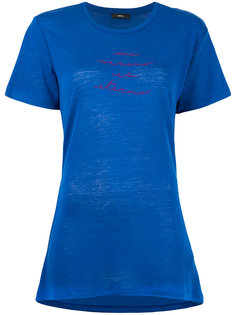 удлиненная футболка T-Sully  Diesel