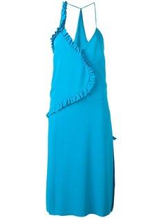 платье с плиссировкой  Cédric Charlier