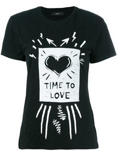 футболка с принтом T-Sully Diesel