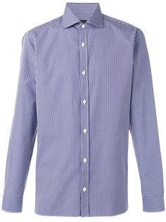 клетчатая рубашка Z Zegna