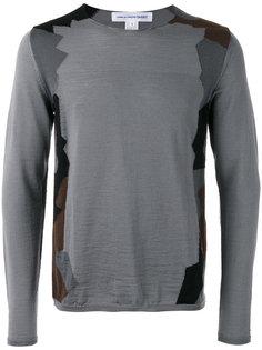 geometric pattern jumper Comme Des Garçons Shirt