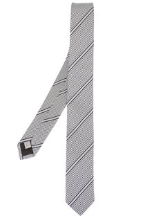 галстук в полоску Dior Homme
