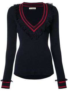 frill V-neck jumper Ulla Johnson
