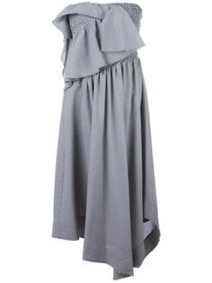 платье в клетку  Cédric Charlier
