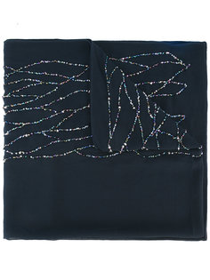 декорированный шарф Armani Collezioni