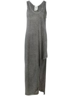 длинное платье с разрезом Lost & Found Rooms
