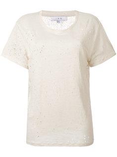 однотонная футболка Iro