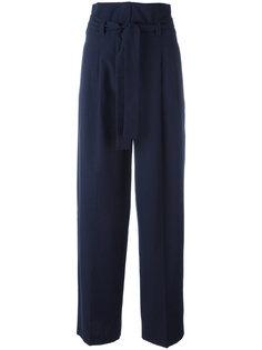 широкие брюки со складками Erika Cavallini
