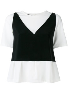 two-in-one top Boutique Moschino