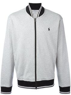 куртка-бомбер с вышивкой логотипа Polo Ralph Lauren