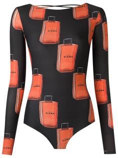 printed swimsuit Amir Slama