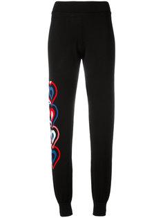 спортивные брюки с принтом Fendi
