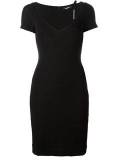 платье с V-образным вырезом Dsquared2