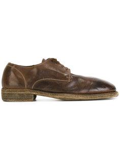 ботинки Дерби Horse Guidi