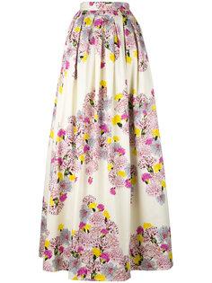 floral print maxi skirt Daniele Carlotta