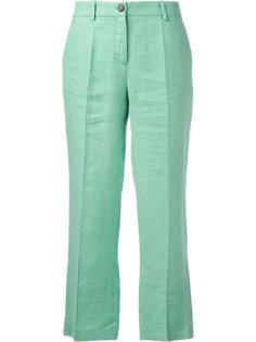 широкие укороченные брюки Roberto Cavalli