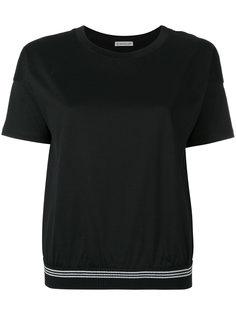 футболка свободного кроя  Moncler