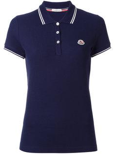 рубашка-поло с короткими рукавами Moncler