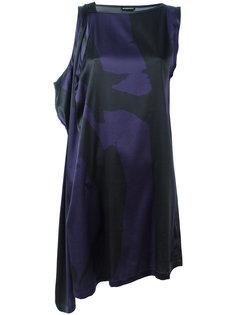 асимметричное платье Ann Demeulemeester