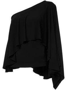 асимметричная блузка с оборками Plein Sud