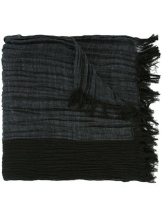 тканый шарф Issey Miyake