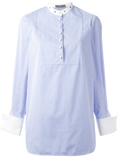 блузка в тонкую полоску Alexander McQueen