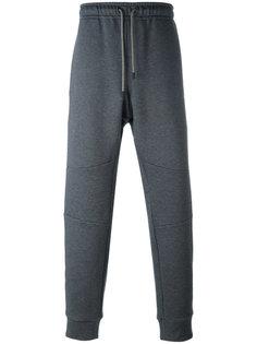 спортивные брюки с эластичными манжетами Fendi