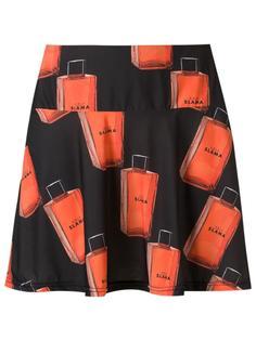 printed A-line skirt Amir Slama